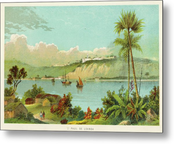 Luanda (sao Paolo De Loanda)  General Metal Print by Mary Evans Picture Library
