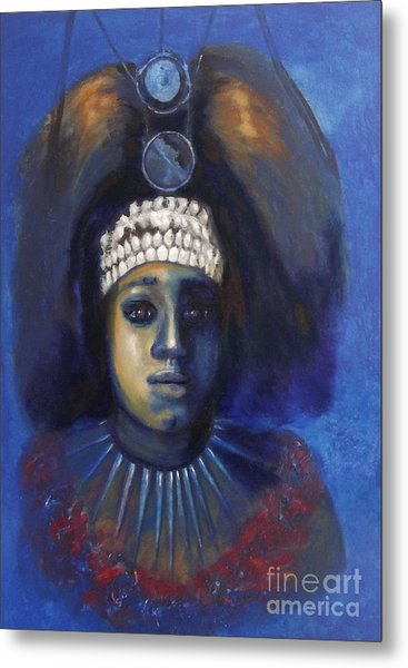 Princess From Hawaii Metal Print