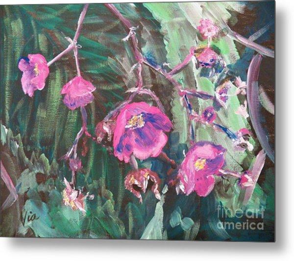 Ptg  Adirondack Wildflower Metal Print