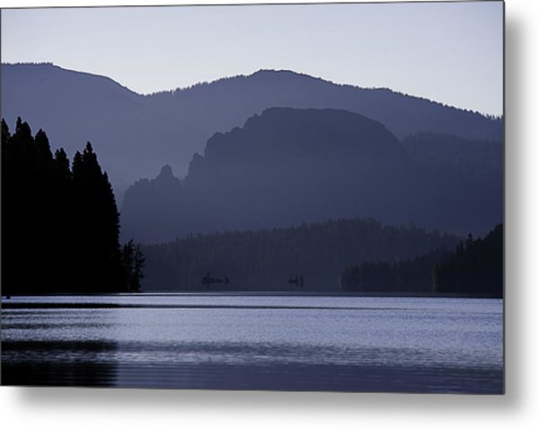 Rimrock Lake Metal Print