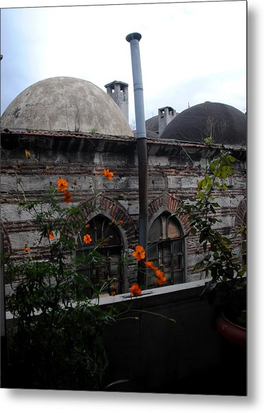 Rustem Pasha Mosque Metal Print by Jacqueline M Lewis