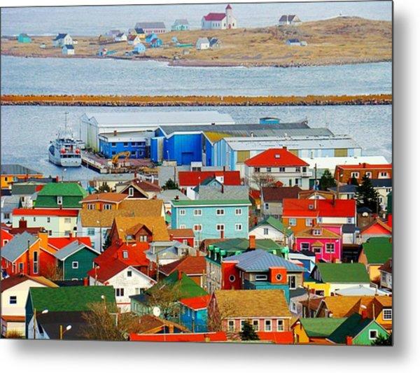 Saint Pierre Et Miquelon Metal Print