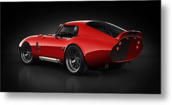 Shelby Daytona - Red Streak Metal Print