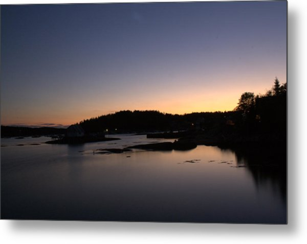 Stonington Sunset Metal Print