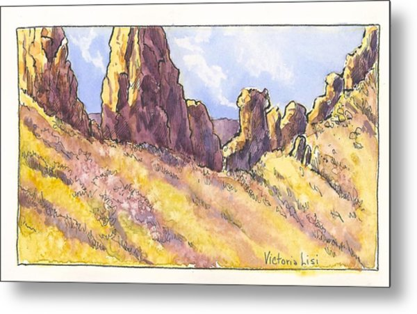 The Devil's Backbone Metal Print