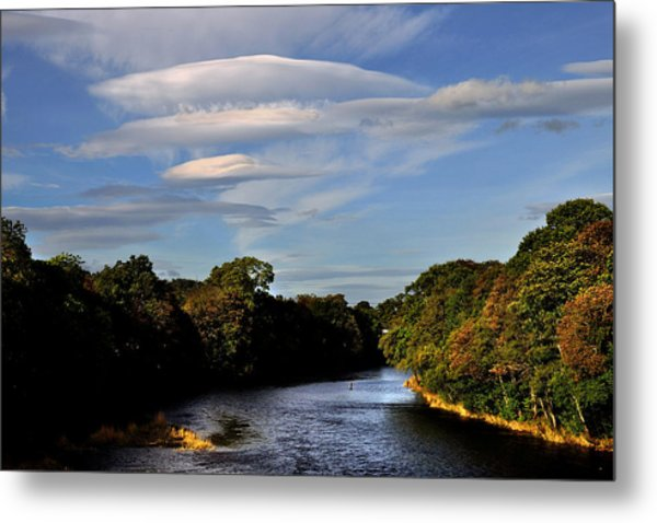The River Beauly Metal Print