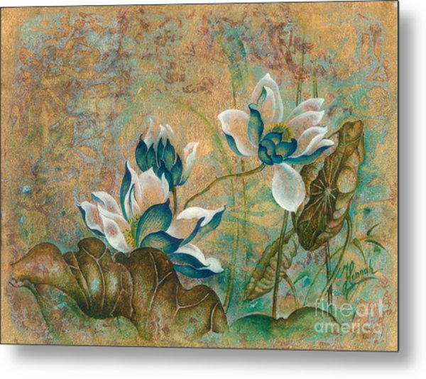 The Turquoise Incarnation Metal Print