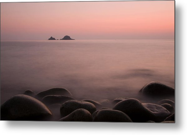 The Waters Edge Metal Print