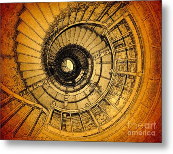 To The Top Metal Print