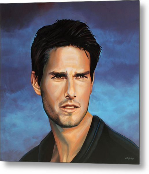 Tom Cruise Metal Print