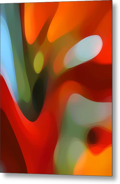 Tree Light 2 Metal Print