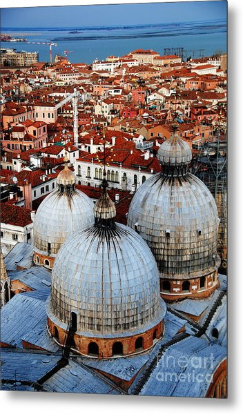 Venice In Glory - Vertical Metal Print by Jacqueline M Lewis