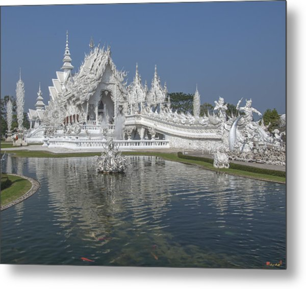 Wat Rong Khun Ubosot Dthcr0001 Metal Print