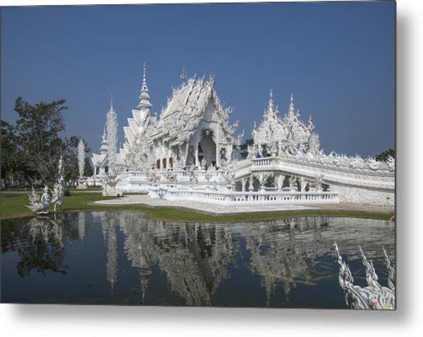 Wat Rong Khun Ubosot Dthcr0002 Metal Print