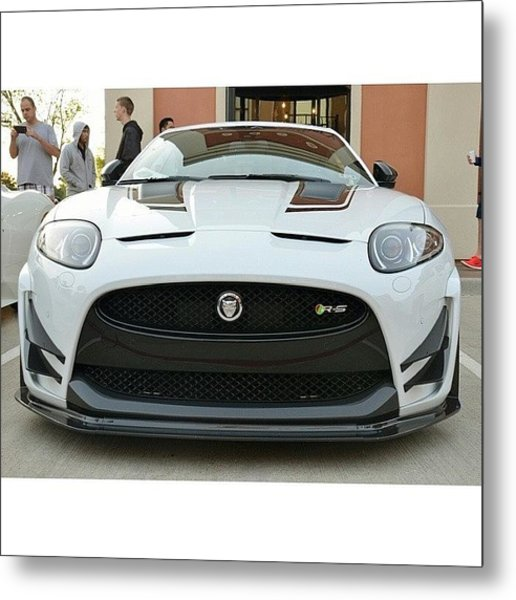 [ Xk - Rs - Spotted At Cars And Coffee Metal Print