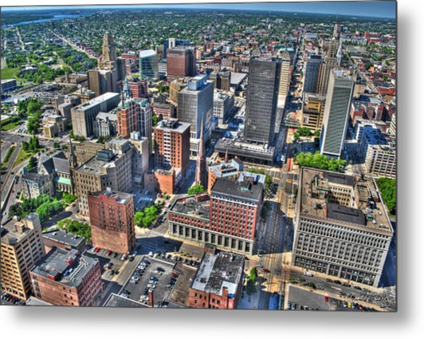 0017 Visual Highs Of The Queen City Metal Print