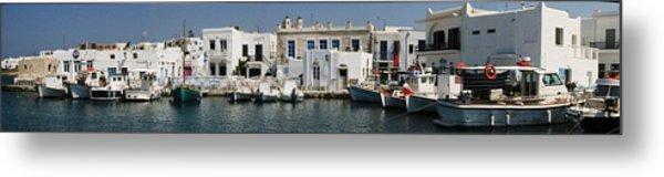 0084246 - Paros - Naousa Metal Print by Costas Aggelakis