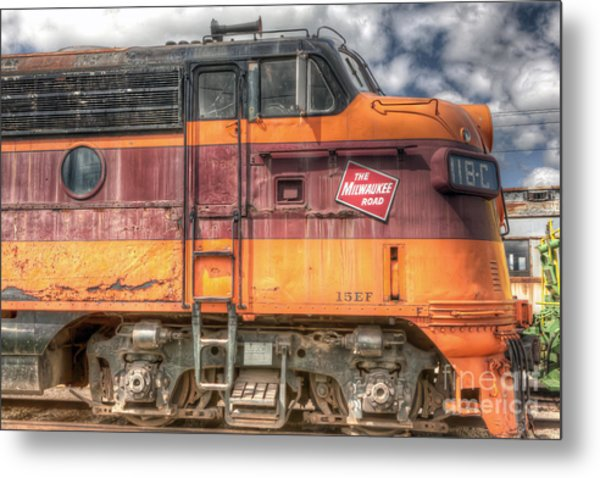 0119 The Milwaukee Road 2 Metal Print