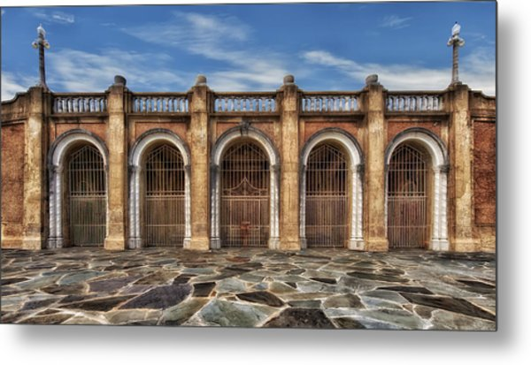 Five Gated Arches - Lakeland Florida Metal Print