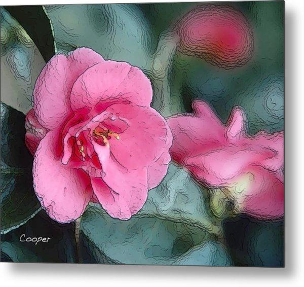 012 Pink Crystal Metal Print