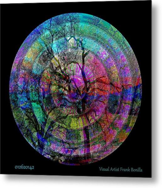 Metal Print featuring the digital art #012620142 by Visual Artist Frank Bonilla