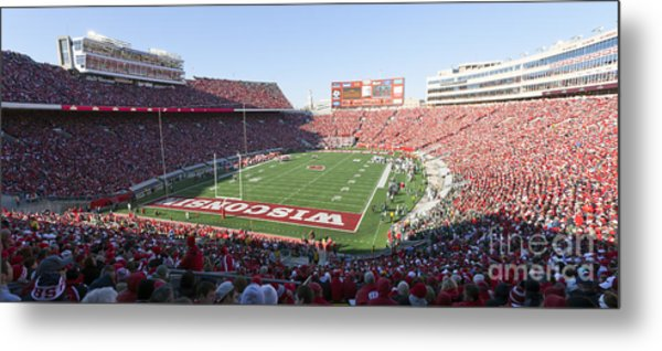 0251 Camp Randall Stadium - Madison Wisconsin Metal Print