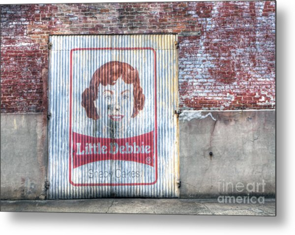 0256 Little Debbie - New Orleans Metal Print