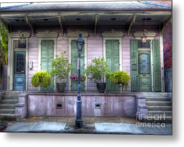 0267 French Quarter 5 - New Orleans Metal Print
