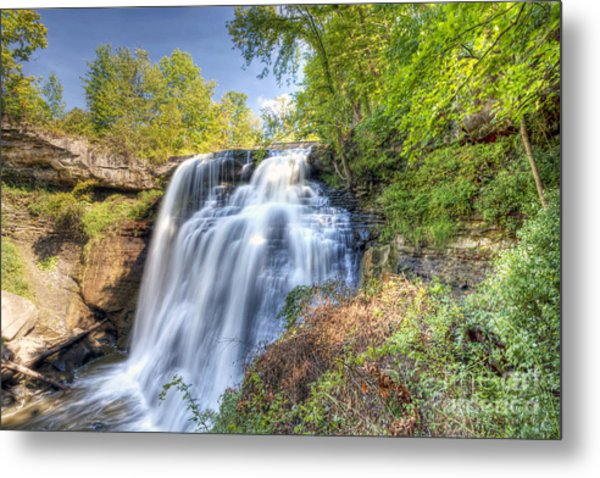 0302 Cuyahoga Valley National Park Brandywine Falls Metal Print
