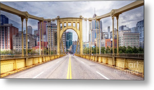 0305  Pittsburgh 10 Metal Print