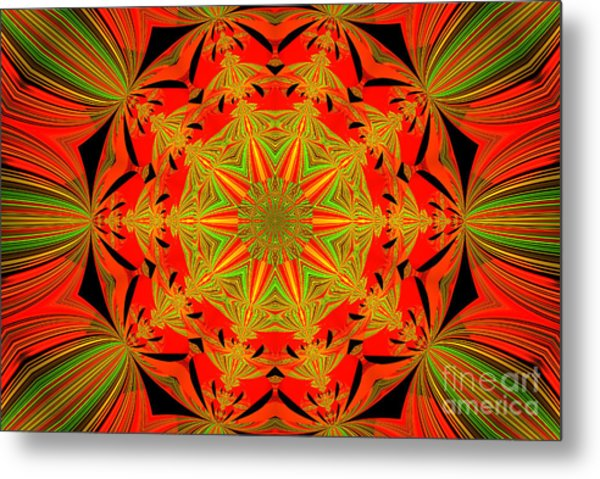 Brighten Your Day.unique And Energetic Art Metal Print