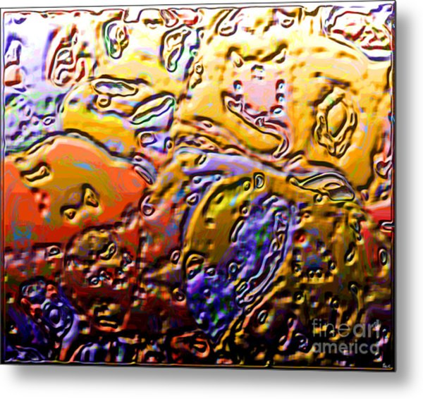 0365 Abstract Thought Metal Print