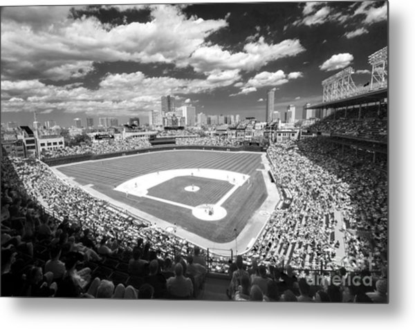 0416 Wrigley Field Chicago Metal Print