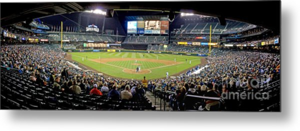 0434 Safeco Field Panoramic Metal Print