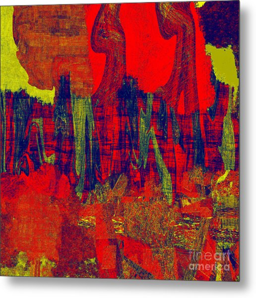 0486 Abstract Thought Metal Print