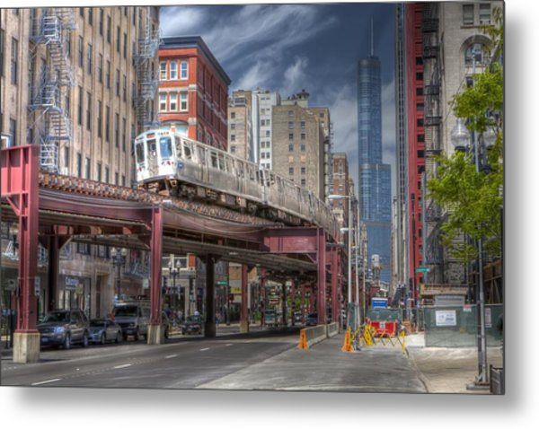 0489 Wabash Avenue Chicago Metal Print