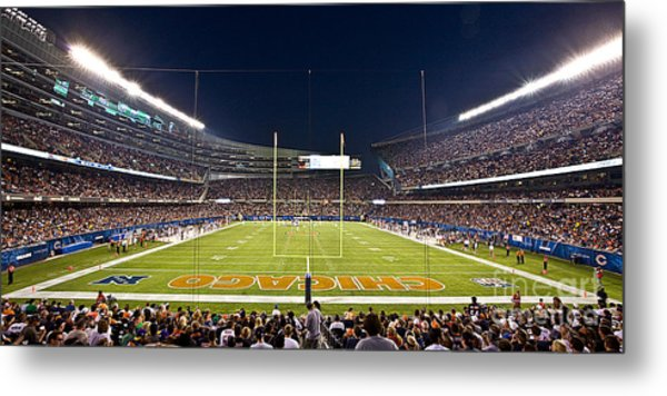 0587 Soldier Field Chicago Metal Print