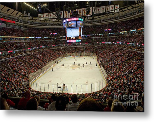 0616 The United Center - Chicago Metal Print