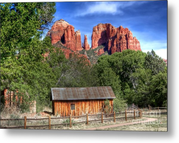 0682 Red Rock Crossing - Sedona Arizona Metal Print