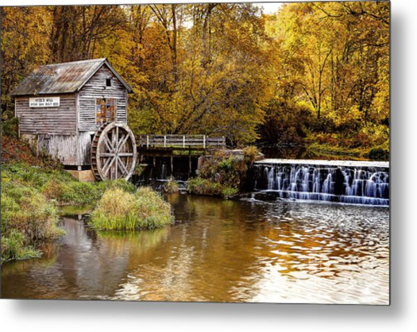 0722 Hyde's Mill Metal Print