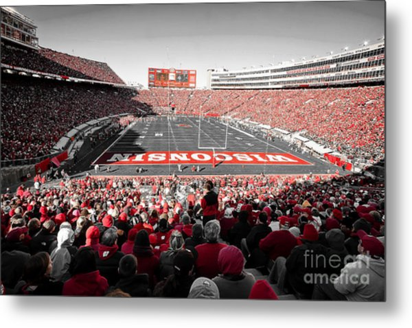 0811 Camp Randall Stadium Metal Print