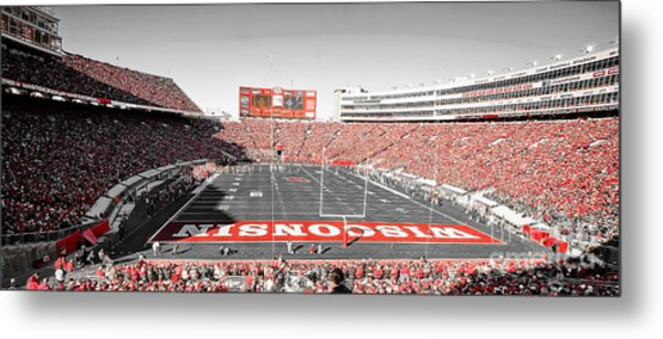 0813 Camp Randall Stadium Panorama Metal Print