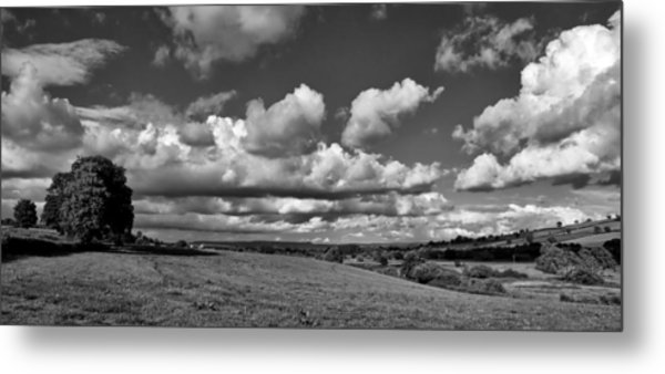 Culm Valley In Devon Metal Print