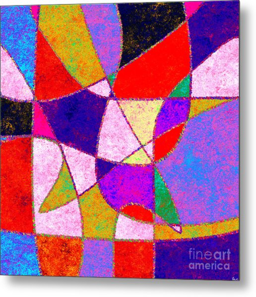 0269 Abstract Thought Metal Print