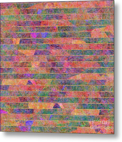 0310 Abstract Thought Metal Print