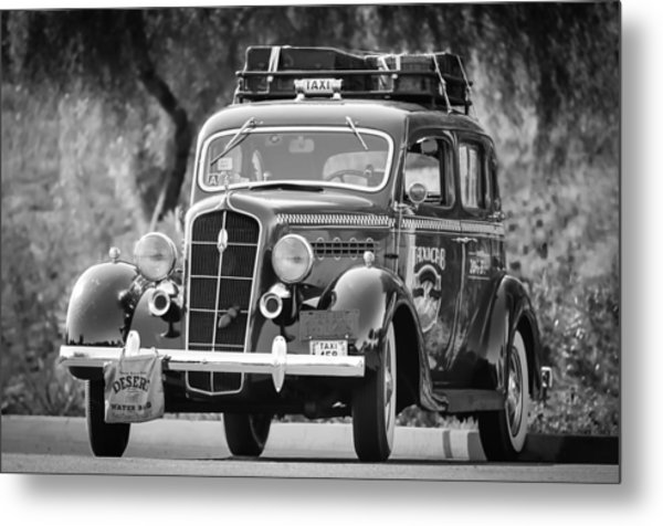 1935 Plymouth Taxi Cab Metal Print