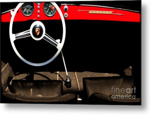 1954 Porsche Speedster  Metal Print by Steven Digman