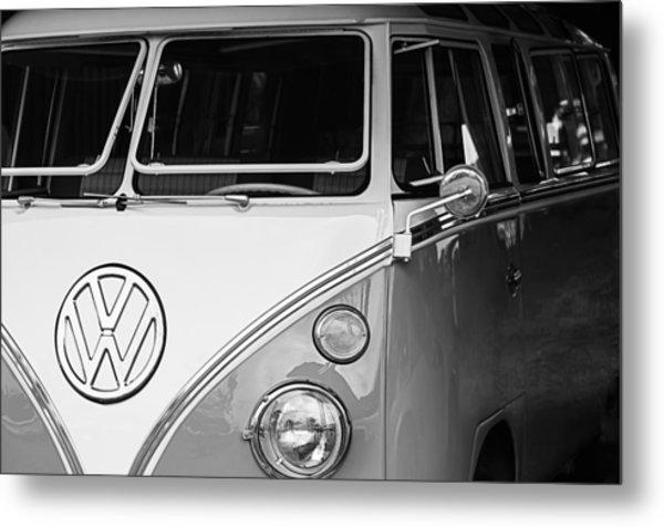 1964 Volkswagen Vw Samba 21 Window Bus Metal Print