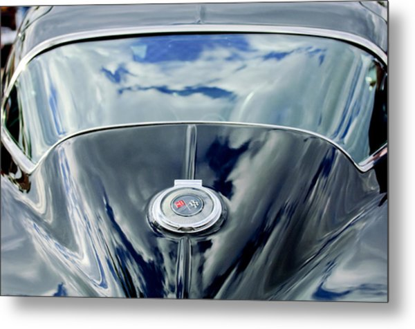 1967 Chevrolet Corvette Rear Emblem Metal Print