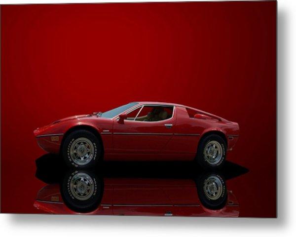 Metal Print featuring the photograph 1975 Maserati Merak by Tim McCullough